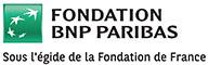 Fondation BNP PARIBAS : sous l'égide de la Fondation de France